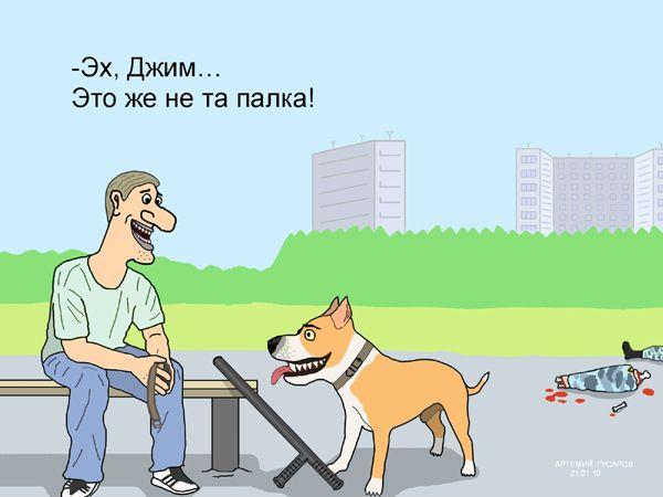 Карикатура: перепутал, artemij