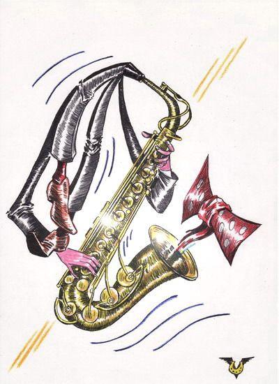 Карикатура: Самозабвение, Владимир Уваров