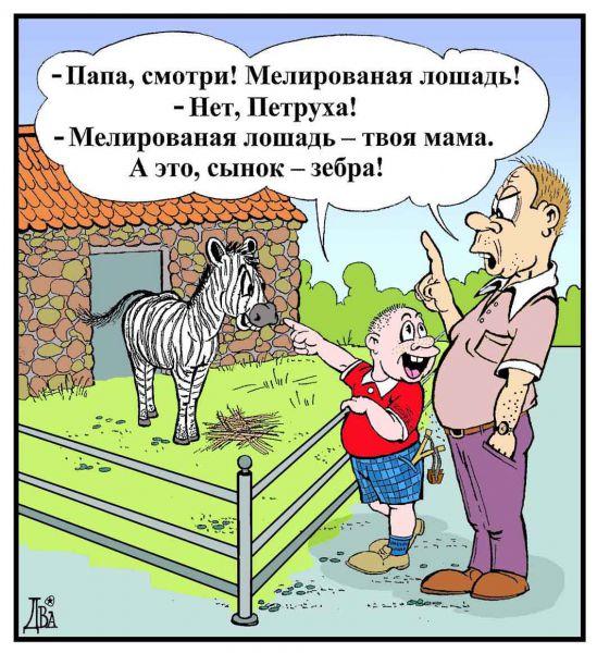 Карикатура: главное отличие, виктор дидюкин