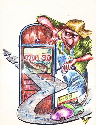 Карикатура: Инетная мышь, Владимир Уваров
