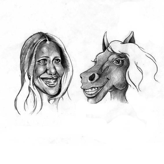 Карикатура: шоу двойников, IgorHalko