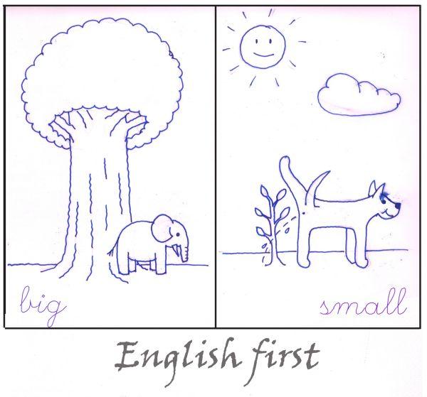 Карикатура: English first-01, Иван Туркин