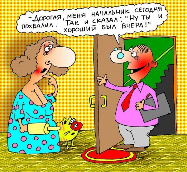 Карикатура, Александр Хорошевский