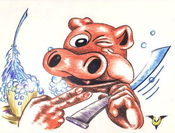 Карикатура: Свежий анекдот (вне конкурса), Владимир Уваров