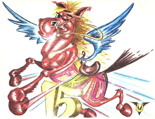 Карикатура: Высота в Пегасах (оценка жюри +0.07), Владимир Уваров