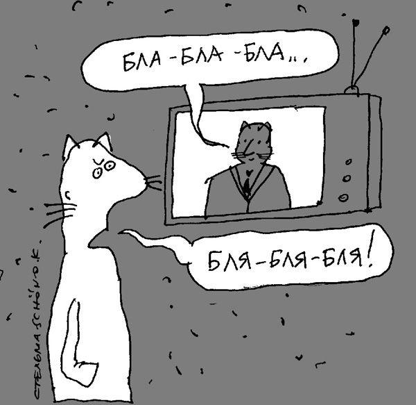 Карикатура: без слов, Сергей Стельмашонок