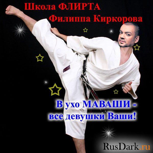 Карикатура: Школа флирта Киркорова, RusDark