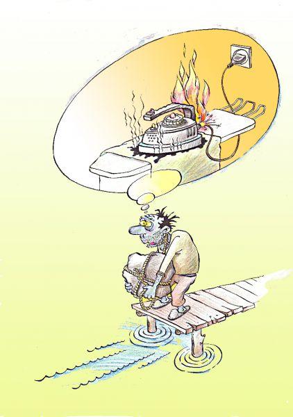 Карикатура: Склероз