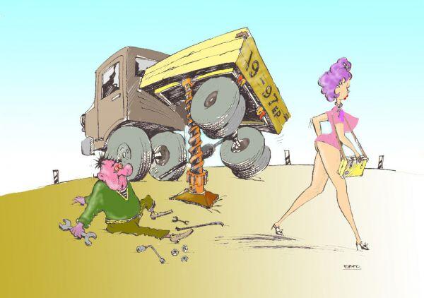 Карикатура: Задомкратился
