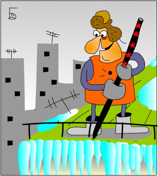 Карикатура: Снайпер, Дмитрий Бандура