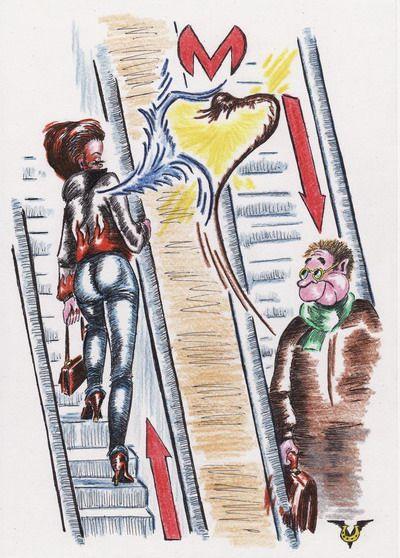Карикатура: Взгляд, Владимир Уваров