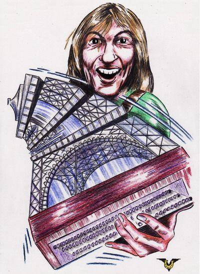 Карикатура: Гармония Парижа, Владимир Уваров