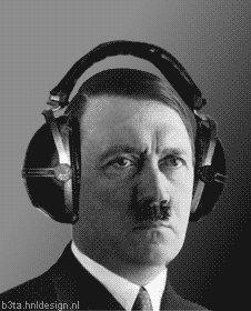 Карикатура: Гитлер Миломан, CHYDOTVOREZ
