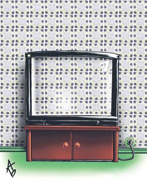Карикатура: Первый канал, Андрей Бузов