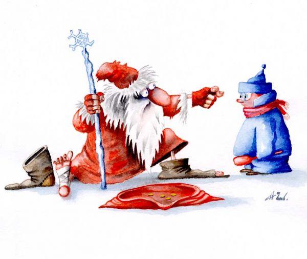 Карикатура: Кукиш, Александр Ануфриев