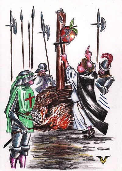 Карикатура: Борьба с соблазнами, Владимир Уваров