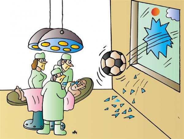 Карикатура: Футбол, Алексей Талимонов