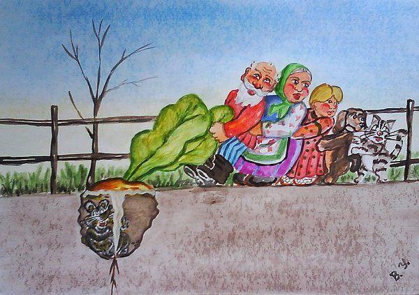 Карикатура: репка, владимир ву