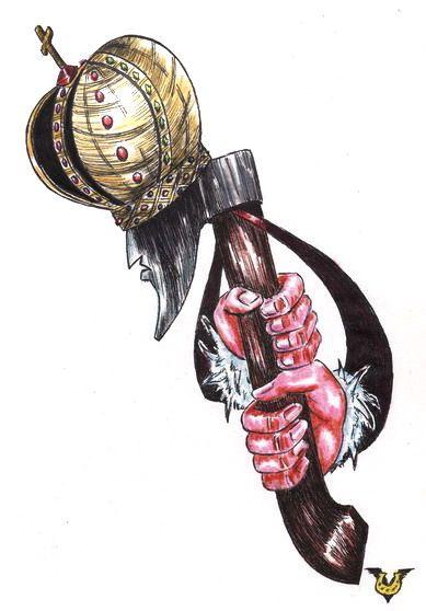 Карикатура: Самодержец, Владимир Уваров