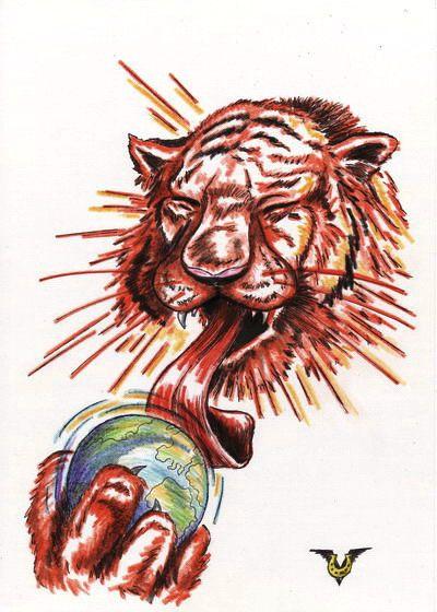 Карикатура: Жара, Владимир Уваров