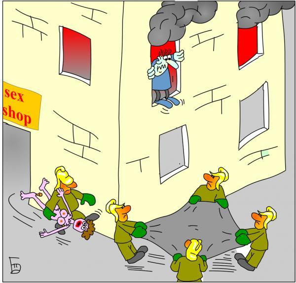 смешные картинки про пожарных мире