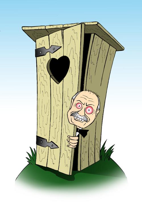 Карикатура: Рождение шедевра, Александр Шабунов
