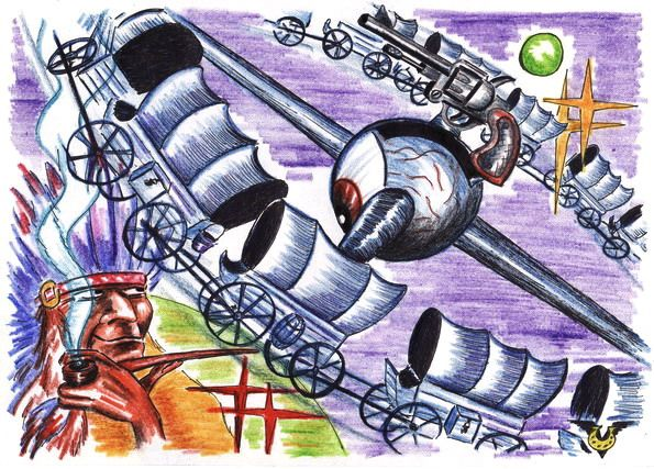 Карикатура: Кругозор, Владимир Уваров