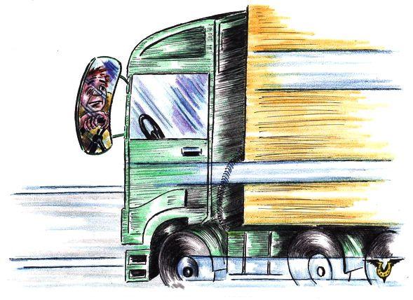 Карикатура: Скучища, Владимир Уваров