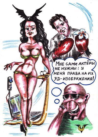 Карикатура: Объемные фильмы, Владимир Уваров