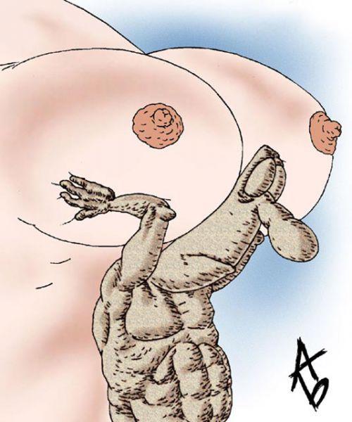 Карикатура: Атлант, Андрей Бузов