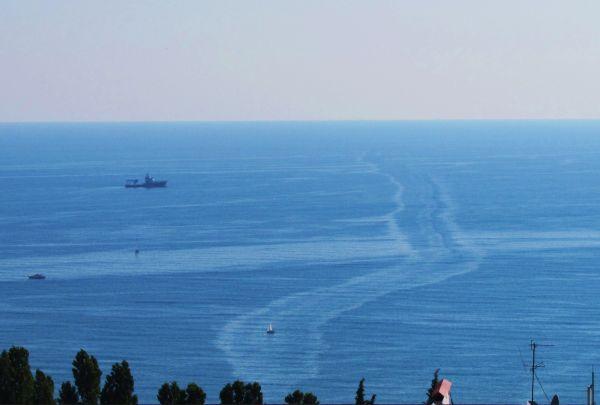 Карикатура: В Сочи для Олимпиады строят не только сухопутные, но и морские дороги..., Владимир Масалов