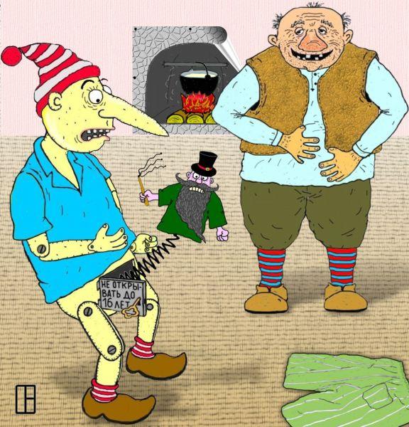 Карикатура: последняя шутка, Олег Тамбовцев