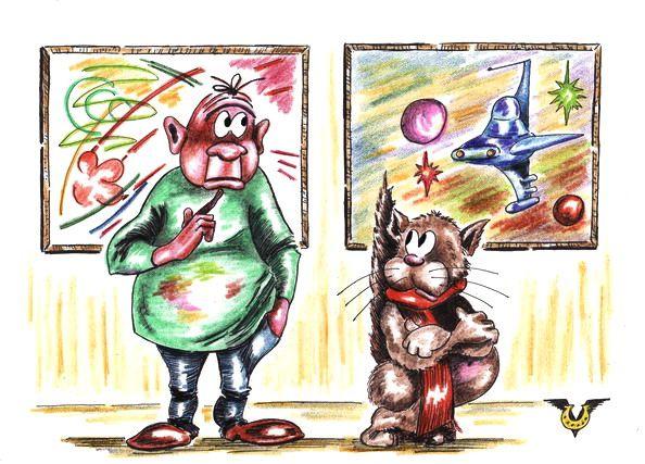 Карикатура: Полет воображения, Владимир Уваров