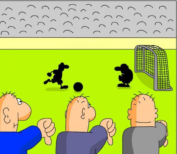Карикатура: Без слов, Дмитрий Бандура