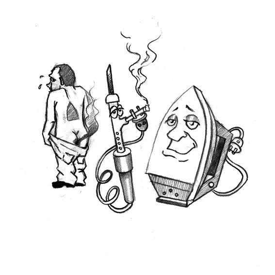 Карикатура: проффи, IgorHalko