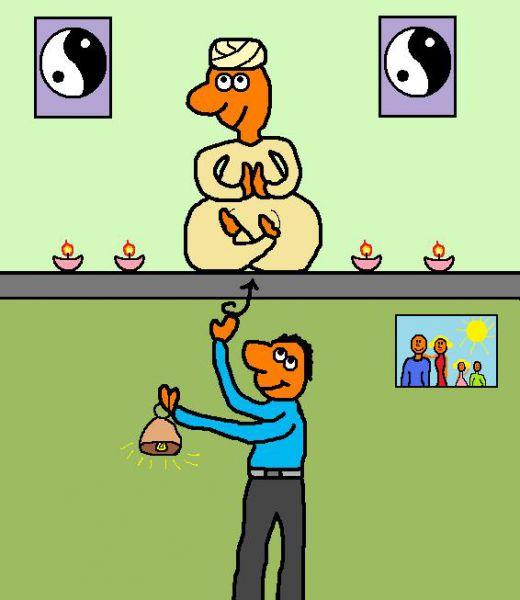 Карикатура: Без комента..., Валюша