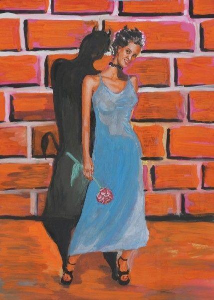 Карикатура: Женщина., владимир ву