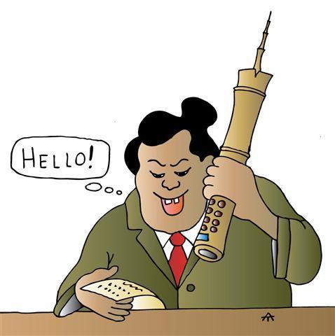 Карикатура: Без слов, Алексей Талимонов