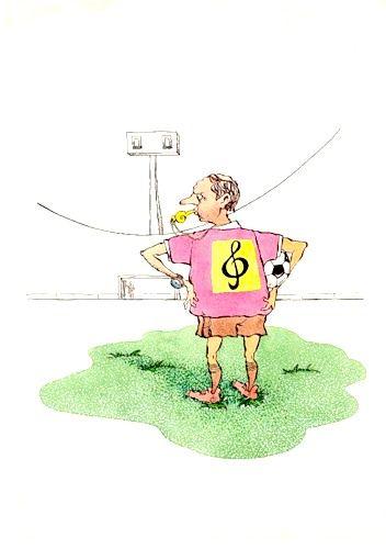 Карикатура: Свистун