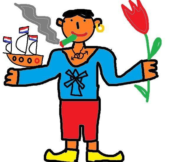 Карикатура: Голландец, Невзоров Александр Александрович