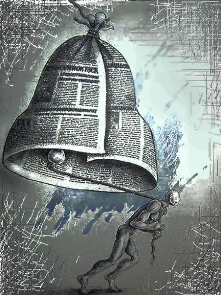 Карикатура: Колокол, Андрей Дулепов(DULEPOV)