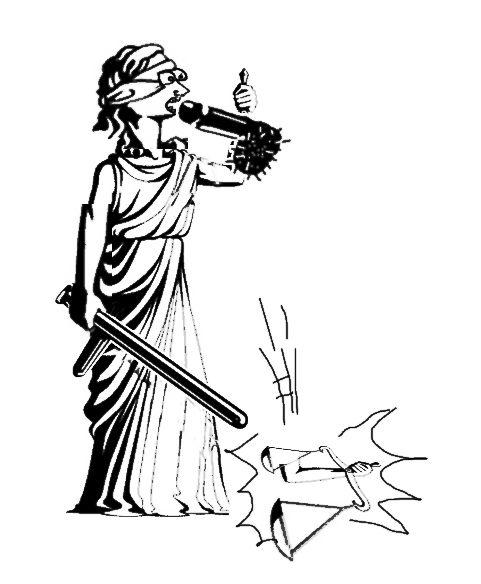 Карикатура: Фемида принимает, C1