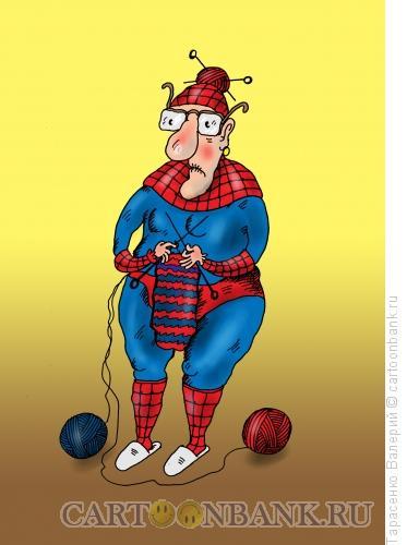 Карикатура: Человек-паук, Тарасенко Валерий