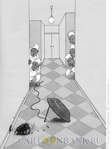 Карикатура: Селекция мамонта, Степанов Владимир