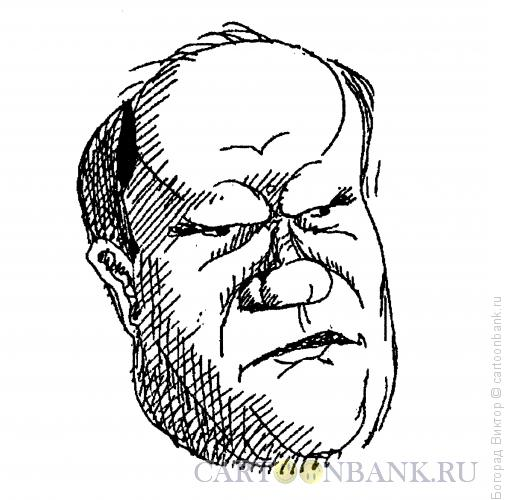 Карикатура: Геннадий Андреевич Зюганов, Богорад Виктор