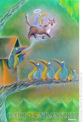 Карикатура: Пророк, Богорад Виктор