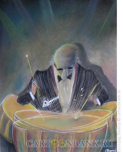 Карикатура: Ударник, Богорад Виктор