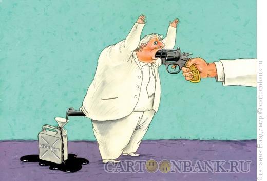 Карикатура: Случай с олигархом, Степанов Владимир