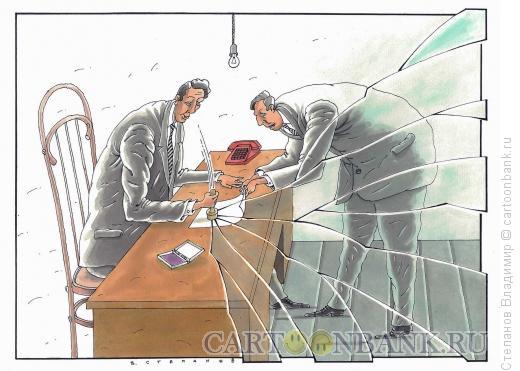 Карикатура: Чиновник, Степанов Владимир
