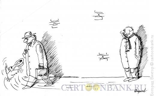 Карикатура: Помощник, Богорад Виктор